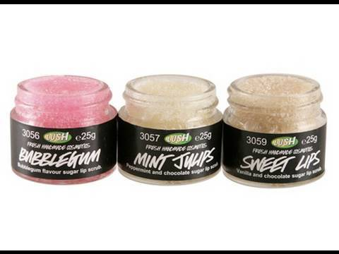 WSITN: New Lush Lip Scrubs