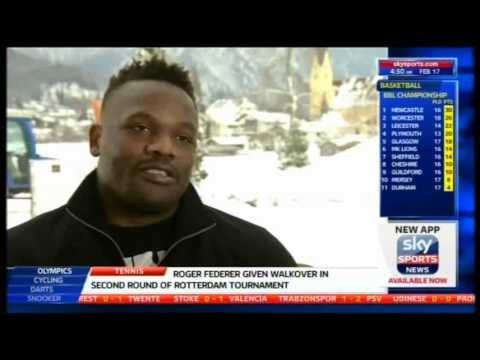 Chisora 'When I See Haye, I'm Going To Give Him A Slap'