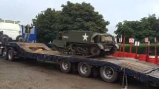 Unloading Canadian Universal Carrier