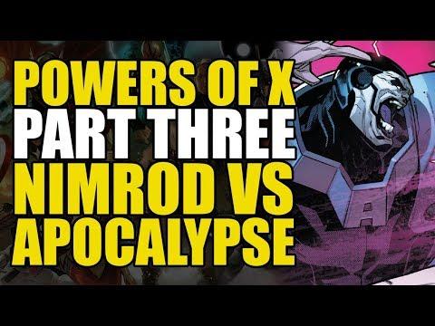 X-Men Powers of X Part 3: Nimrod Vs Apocalypse | Comics Explained