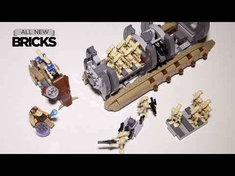 Lego 75086 Battle Droid Troop Carrier Speed Build Review