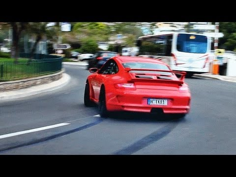Porsche 997 GT3 Prior Design Massive Drifts in Monaco !!