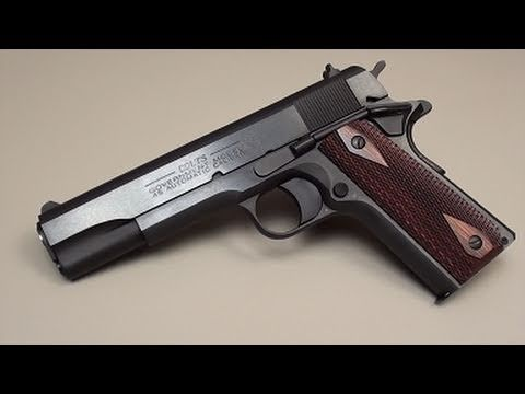 Colt 1911 45 Acp 1991 Series 80 Youtube