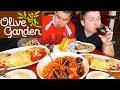 Fettuccine Alfredo Noodles & Mozzarella Chicken Parmesan • Olive Garden • MUKBANG MP3