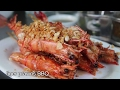 Rakhine Seafood Feast at Minn Lan Restaurant in Yangon, Myanmar