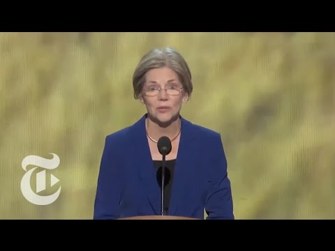 Election 2012 | Elizabeth Warren's Full DNC Speech | The New York Times