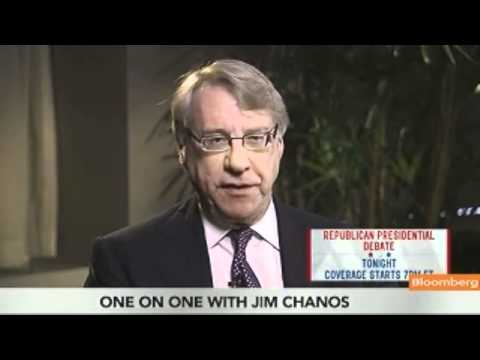 Jim Chanos interview recommendations
