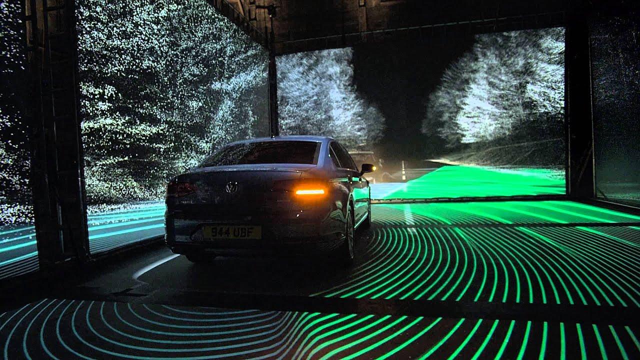 Volkswagen. The advanced new Passat - Side Scan - YouTube