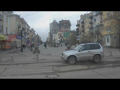 . Самара. Поездка по городу в трамвае