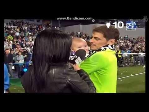 Iker Casillas con Martín en el Bernabéu [Parte 2]