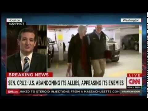 Sen. Ted Cruz on The Situation Room with Wolf Blitzer