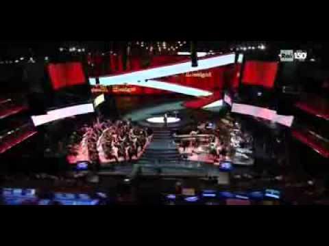 """Inno Nazionale """"Fratelli d'Italia"""" raccontato e cantato da Roberto Benigni, Sanremo 2011 – parte2di4"""