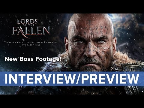 Lords Of The Fallen - Interview   Preview - New Boss Battle Ps4 Gameplay - Eurogamer video