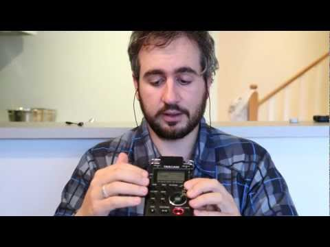 Tascam DR-100 MKII Review Test Compared With Zoom H4N