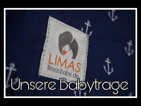 Unsere LIMAS Babytrage || Schwanger mit 18