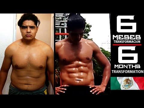 Mi transformación en 6 meses (Calisthenics) / Amazing 6 months transformation (Calisthenics)