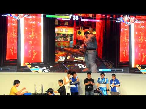 Street Fighter 5: Daigo (Ryu) vs. GamerBee (Chun-Li) exhibition match ...