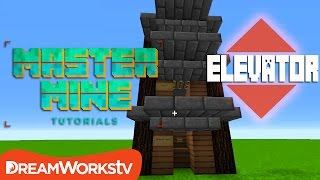 How to Make a Working Elevator in Minecraft 1.9 | MASTER MINE TUTORIALS