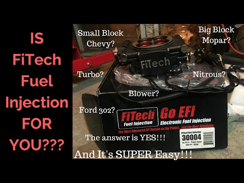 FiTech Fuel Injection System Impressions and Review...As Simple As It Gets!