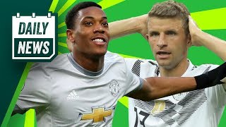 WORLD CUP & TRANSFER NEWS: Martial worth 80M? & Germany lose their first game ► Daily Football News