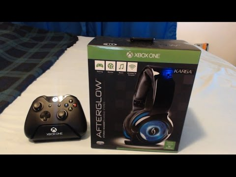 Xbox One Afterglow Karga Headset Unboxing & Review