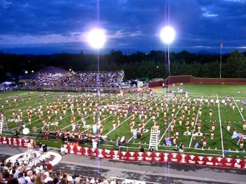 2010 Dobyns Bennett High School Band Football Halftime Show #4