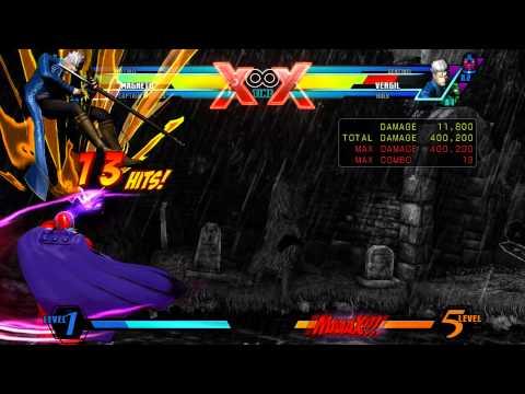 UMVC3: Captain America & Magneto Rawtag Combo 3