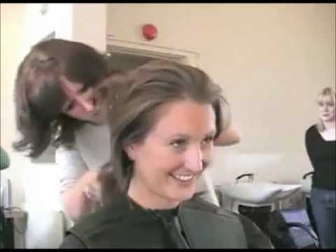 Female Headshave - Female Shaved Head - A Buzzcut Female video