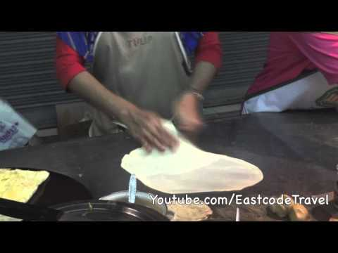 Muslim Roti and Matabaq  Krabi night street food