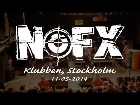 NOFX live in Stockholm @ Klubben FULL SET