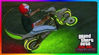 "GTA 5 Online - NEW $1.9 Million ""DEATHBIKE"" Gargoyle Bike Review & Customisation! (Arena War DLC)"