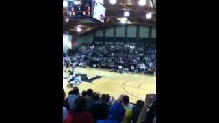 Zach Adams dunk contest