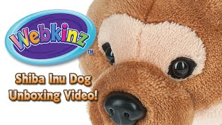 Webkinz Shiba Inu Dog Unboxing - NEW Pet March 2016!