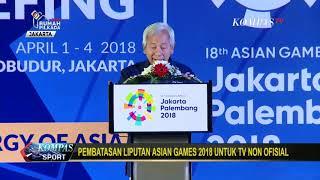 Kecewa...!!!! Pembatasan Hak Siar Asian Games 2018
