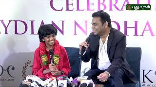 AR Rahman & Lydian Nadhaswaram Interview | Red Carpet | 23/03/2019