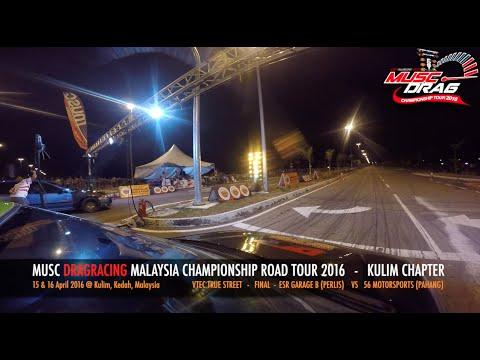 GoPro On Board 5 - Musc Drag Racing Kulim 2016
