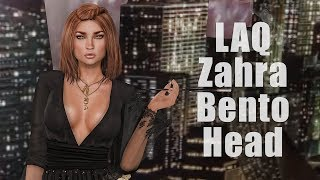 LAQ Zahra Bento Mesh Head in Second Life