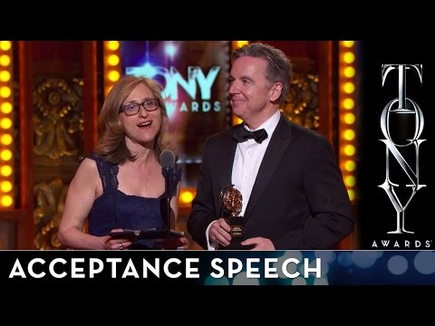 2014 Tony Awards: Acceptance Speech - Signature Theater
