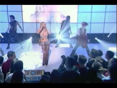 Britney Spears-overprotected (live 2001) video