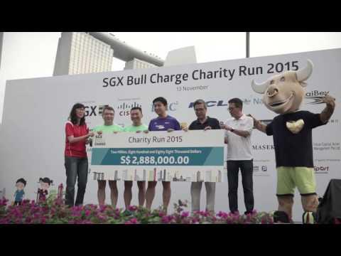 SGX Bull Charge Charity Run 2015