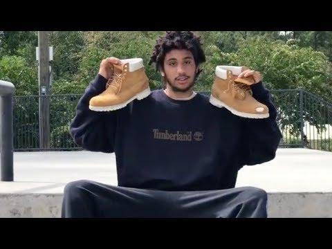 Ferg, The Skater who only skates Timberlands