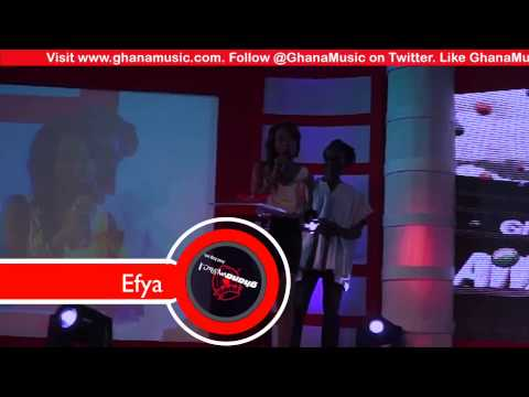 Efya - Vodafone Ghana Music Awards 2013 | GhanaMusic.com Video
