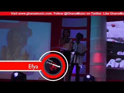Efya - - Vodafone Ghana Music Awards 2013