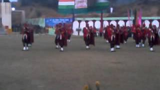 CRPF PIPE BAND DISPLAY