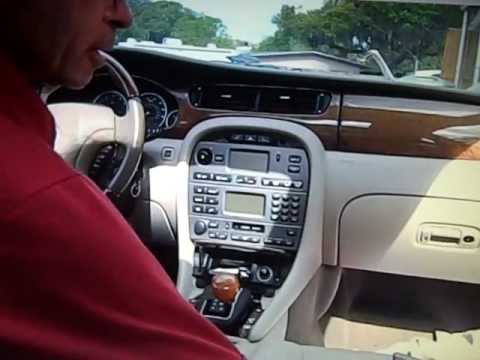Jaguar Car Stereo Removal X type 2002 2008 YouTube