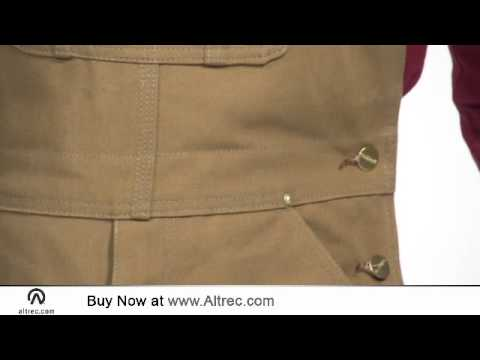 Video: Men's Duck Bib Overall - Unlined