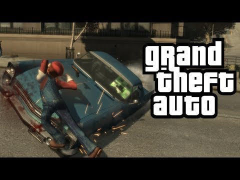 GTA 4: Carmageddon Mod! - (Funny Moments w/ Mods)