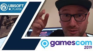 Ich bin ein Ubisoft STARPLAYER - gamescom 2019 - VLOG - #01