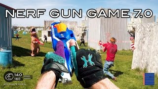 Nerf meets of Duty: Gun Game 7.0 | First Person in 4K!