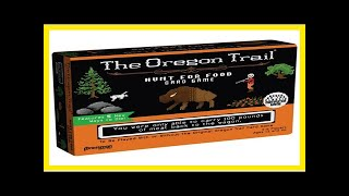 Card game review: 'the oregon trail: hunt for food' from pressman and goliath games by BuzzFresh Ne